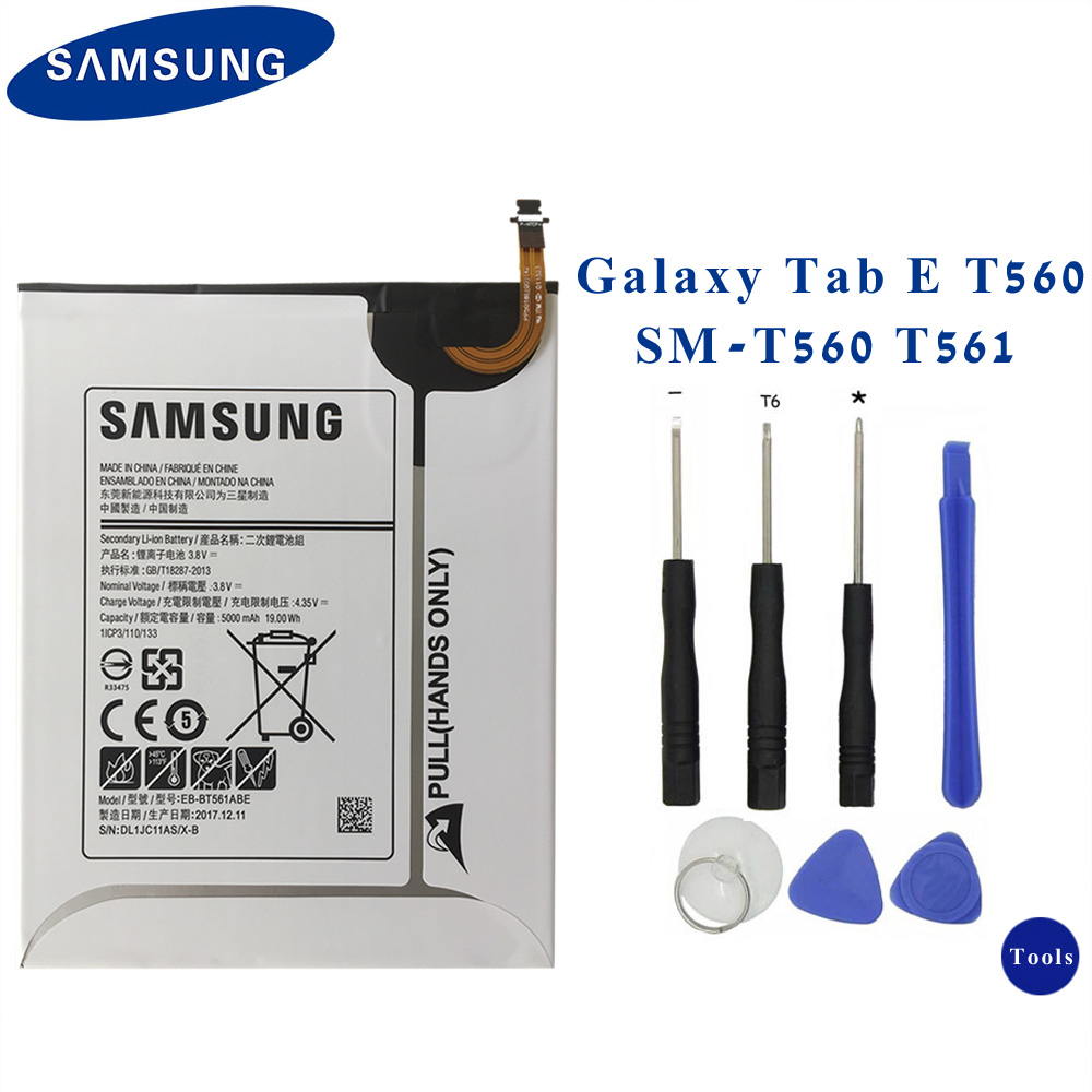 "Samsung Galaxy Tab E Internal Battery Replacement 9.6/"" T561 5000mAh EB-BT561ABE"