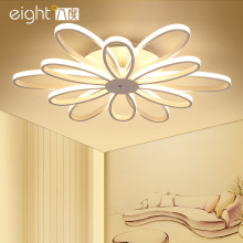 LED Ceiling Lights post-modern minimalist living room lamps creative Nordic Flower bedroom fixtures restaurant Ceiling lighting post modern living room ceiling lights creative nordic ceiling lamps led study fixtures warm master bedroom ceiling lighting