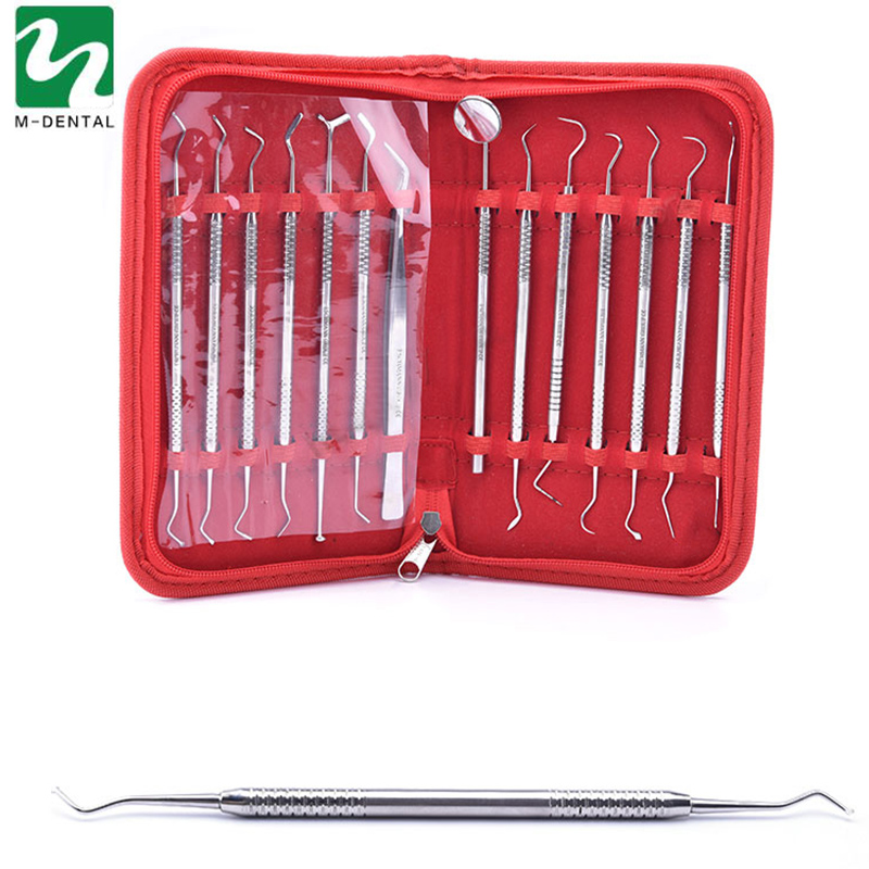 14pcs/set Stainless Steel Dental Lab Kit Equipment Dentist Surgical Wax Carving Teeth Tool Set Instruments  3pcs set stainless steel carving chisel wax carving tools set