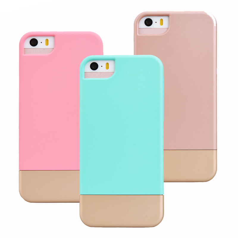 For Iphone 5 Case For Iphone 5s Case Rose Gold Cute Candy Color