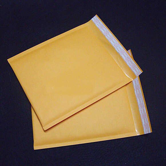 10 Pcs/set Kuning Kertas Gelembung Amplop Hadiah Paket Office & School Supplie