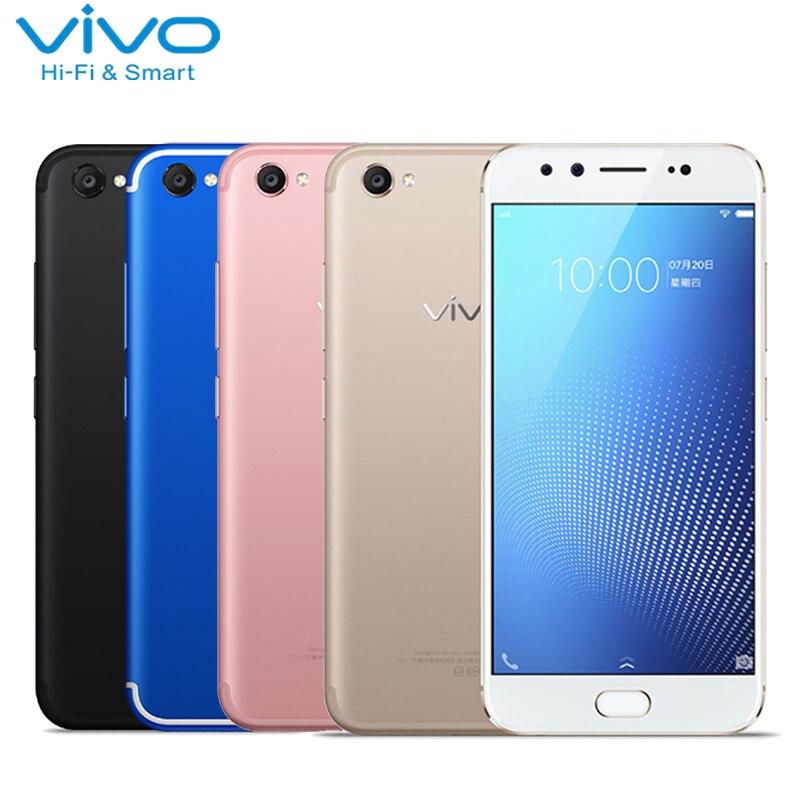 Original VIVO X9s Plus Cell Phone 5.85 inch RAM 4GB ROM 64GB Snapdragon Ocat Core Android 7.1 Front Dual Cameras Smartphone