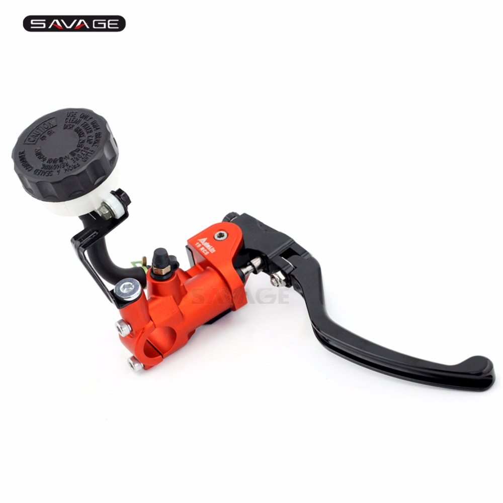 Radial Brake Master Cylinder For SUZUKI DL650 V-Strom DL 1000 SV1000/S SV 650/S SFV 650 Gladius Motorcycle Accessories Orange цена