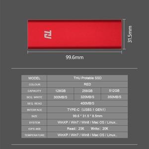 Image 4 - 128G נייד SSD חיצוני HDD מצב מוצק כונן 64GB 128GB 256GB 512GB 1TB נייד SSD USB3.0 400 MB/s עבור מחשב נייד מחשב נייד