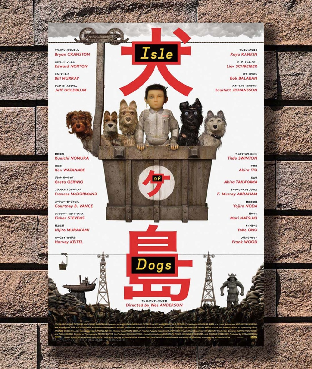B 305 Isle Of Dogs Movie Wes Anderson 2017 Film Yaponskaya Sobaka Lyubov Plakat Iskusstvo L W Pechat Na Holste Ukrashenie 12x18 24x36 27x40 Dyujmov Kupit Nedorogo V Internet Magazine S Dostavkoj Sravnenie Cen