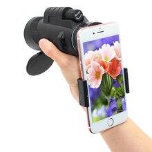 Telefon kamera lens 40x lentes yakınlaştırma monoküler telefonu teleskop Lens 40x60 kamera lentes Zoom objektifi akıllı telefon için para