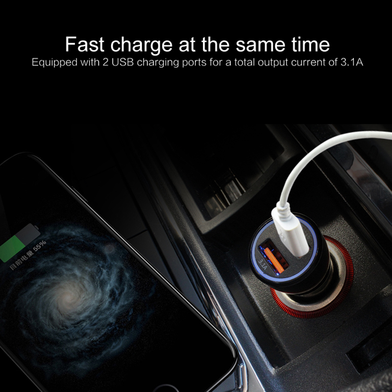 Car-Charger Auto Samsung IPhone Xs Usb-Port Xiaomi For 5V Dual Max