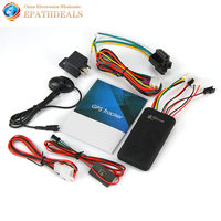 Real Time Car GPS Tracker SMS GSM GPRS Quad Band Vehicle Tracking Device Locator For Auto