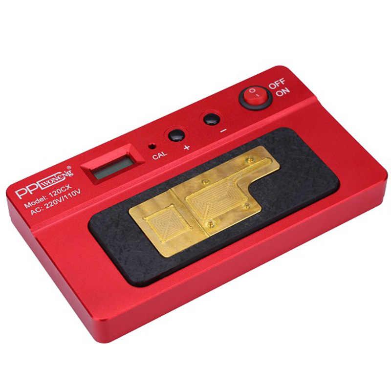 PPD 120CX อัจฉริยะ Desoldering Pre - ความร้อนสำหรับ iPhone X เมนบอร์ด BGA NAND ชิปเซ็ต A11 CPU รื้อถอนแพลตฟอร์ม