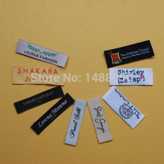 Popular Customized Woven Label-Buy Cheap Customized Woven Label ...