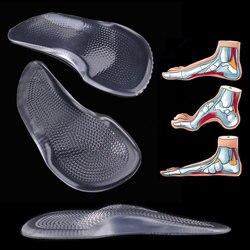 Гель арочная опорная площадка 3/4 для обувь на высоком каблуке без каблука средства ухода за кожей стоп ортопедические стельки корректор