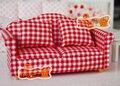 [ 1:12 кукольный домик мебель модель ] кукольный миниатюрное mini миниатюрное мебель розы гроздь диван мягкий