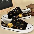 Custom Animal Cat Fish Girl Look Hoop Fashion Casual Shoes Oxford Heels Beautiful Student Shoes Plus Size EU34-43