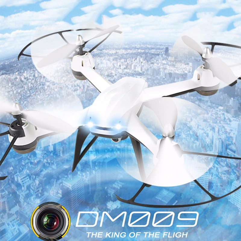DM009 Drone With HD 1080P Wifi Camera Quadrocopter Hovering FPV Quadcopters 2MP Folding RC Helicopter Storage bag toy for boy