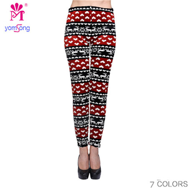 Holiday Leggings Plus Size