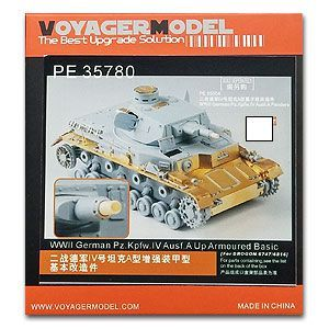 KNL HOBBY Voyager Model PE35780 World War II German Army IV tank A type of enhanced armor basic transformation pieces