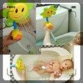 2016 juguetes de los niños juguetes de baño ducha de verano girasol ducha