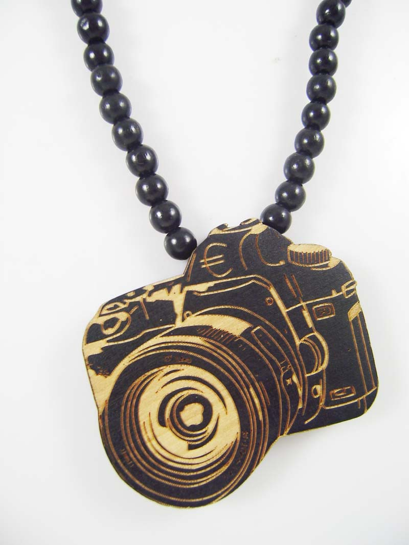 New coming camera necklace pendant beads wooden necklaces hip hop new coming camera necklace pendant beads wooden necklaces hip hop jewelry good gift mt257 in pendant necklaces from jewelry accessories on aliexpress mozeypictures Image collections