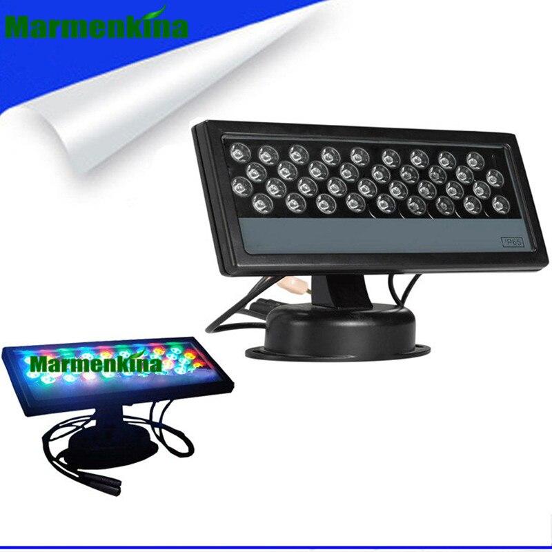36W LED RGB Floodlight LED Wash Light Waterproof DMX 512 Stage Light LED Floodlight Wall Washer lamp background Lamp flood Light