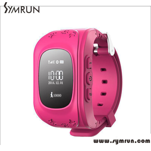 Symrun Kid GPS Tracker Smart Watch Q50 Location Finder Locator Child Anti Lost Monitor Baby Gift Android Smartwatch