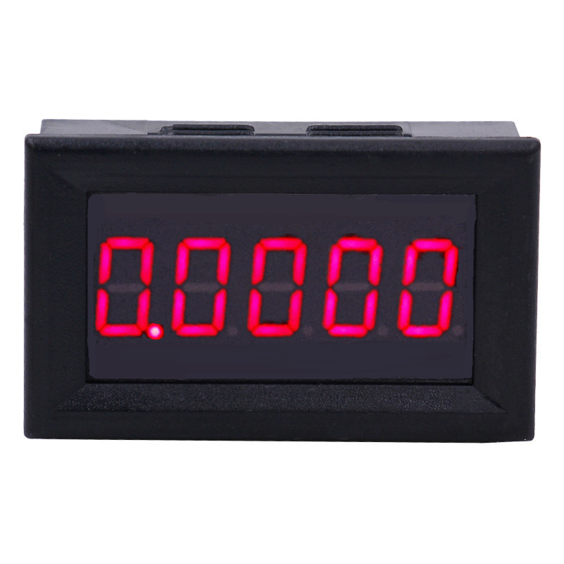 10pcs lot Motorcycle Digital Amp Current Meter Gauge Ammeters Panel DC 0 0000 3 0000A tester