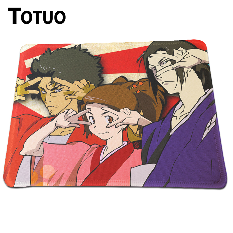 Time Limited Samurai Wallpaper Anime Mousepad Durable Rubber Lock Edge Mouse Pad Steelseries Qck Navi Gaming Mice Mat