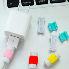 10 Pcs/Set Mini USB Cable Protector for iPhone 6/7/Plus iPad Data Earphone Cables Protected Cover XJ66