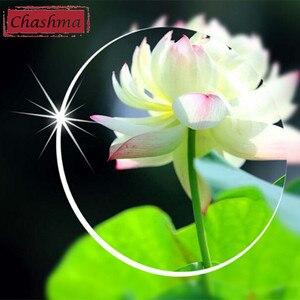 Image 2 - Chashma marka lensler 1.61 endeksli asferik şeffaf Lens MR 8 güçlü Anti yansıtıcı optik gözlük reçete lensler gözler için