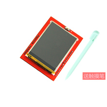 10pcs New 2.4 inch TFT LCD touch screen display with TF card reader for Mega2560 UNO R3 board ili9341 driver 320x240 with stylus