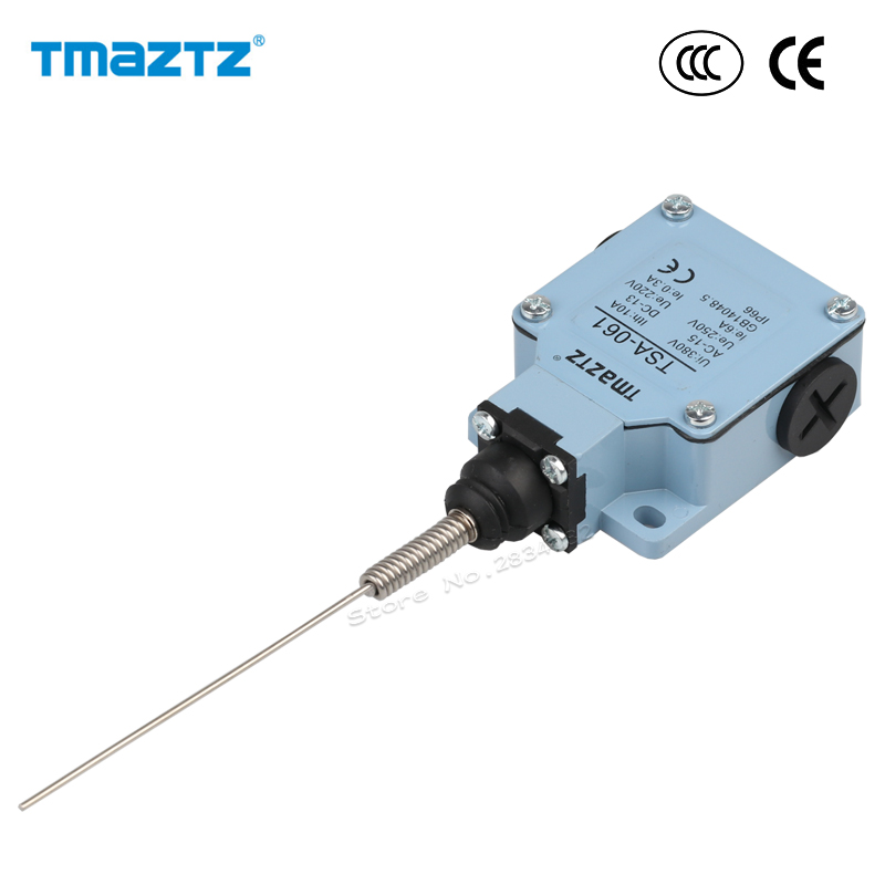 Lighting Accessories Purposeful Limit Switch Ac Dc No Nc 380v 10a Stainless Steel Spring Head Momentary Metal Travel Switch Ip66 Waterproof Tsa-061 High Quality Demand Exceeding Supply Lights & Lighting