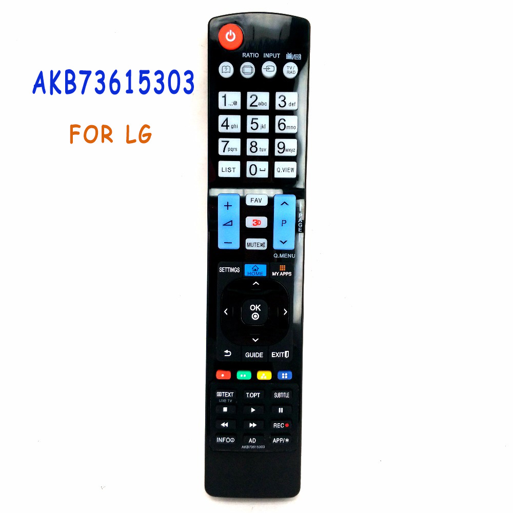 Universal Remote Control AKB73615303 For LG 3D SMART TV 5302 5309 AKB73615361 AKB73615362 60LA8600 60PH6700 Remoto Fernbedienung new remote control for philips home theater system remoto controle fernbedienung