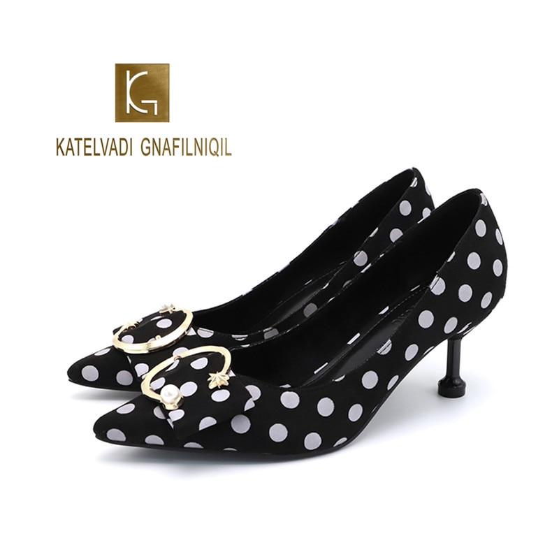 New Retro Women Pumps Flock High Heels 6cm Shoes Women's Pointed Toe Shallow Sexy Party Shoes Fashion Wedding Shoes K-264 недорго, оригинальная цена