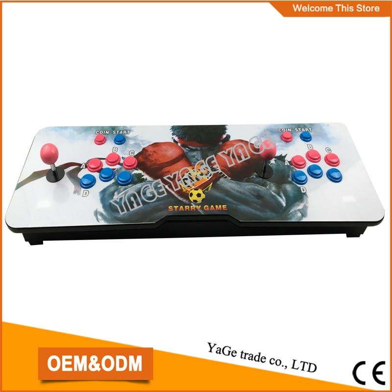 Family classic design Horizontal Games Arcade Game Machine,multi games 680 in 1 Pandora's Box 4s  video game console