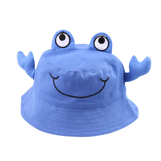 Kids Toddlers Baby Cartoon Animal Sun Basin Cap Children Fisherman Hat Sunhat Summer Cap For Boys/girls children