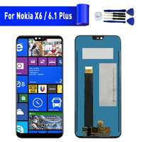 For Nokia 6.1 Plus X6 lcd display screen Replacement For NOKIA X6 6.1 Plus Display lcd screen module