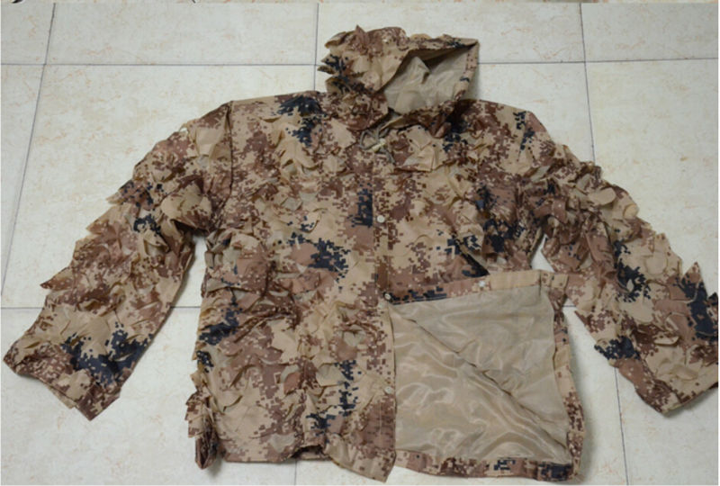 High Quality! Breathable Desert Digital Ghillie Camouflage Suits Camo Net Clothes for Winter Outdoor Sports Training Bow Hunting double fleece camo suits fabric jungle camouflage hunting clothing sets for hunter clothes