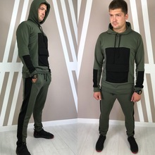 Tracksuit For Men 2 Pieces Set New Fashion Sporting suit Hoodie Spring Autumn Brand Clothes Hoodies+Pants
