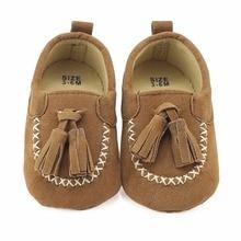 2a81cd80e6 Adicionar à Lista de Desejos. Nova Infant Toddler Sapatos Mocassins Franjas  Newborn Primeiro Walkers Crianças Pram Berço Bebe Prewalkers Mocassins de
