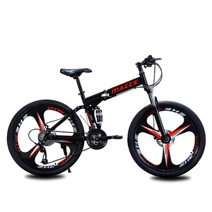 SPORTSHUB 21/24/27 سرعة 24/26 بوصة فولاذ الكربون الطريق دراجة للطي إطار شورت مخصص لركوب الدراجات الهوائيّة الجبلية كاملة Bicicleta O2K0008