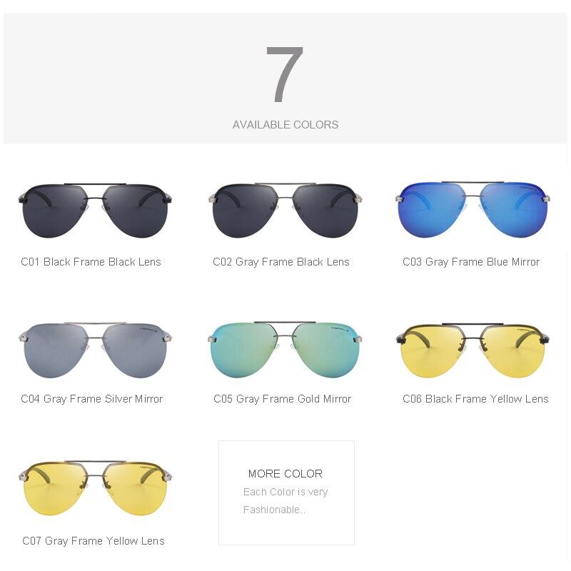 MERRYS Marca Hombres 100% Polarizado Aleación de Aluminio Gafas de - Accesorios para la ropa - foto 6