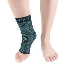 1 PC Sports Knit Ankle Compression Socks Breathable Sweat-Absorbent Football Basketball Badminton Comfortable Versatile