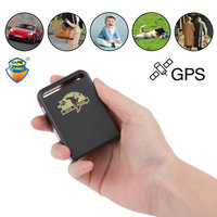 Vehicle GSM TK102B Car Mini Realtime Online GSM GPRS Tracking Device Locator GPS Tracker TK 102 for Kids Cars PetGPS Locator