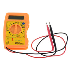 Electrical Instrument Digital Multimeter Voltmeter Ammeters Ohmmeter Professional Diagnostic Tool Tester P00