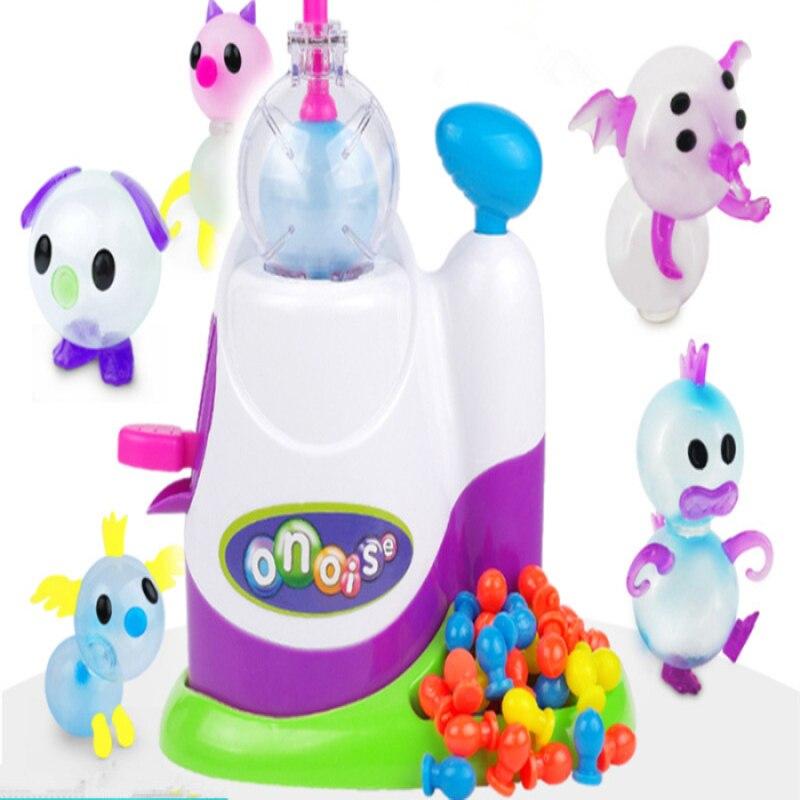 High Quality Magic Adhesive Music Wave Oonies Children DIY Handmade Creative Sticky Ball Fun Bubble Inflator Toys