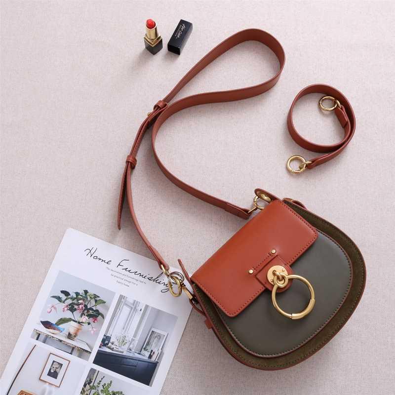5888e1009970 ... Роскошные Сумки Для женщин сумки поддельные дизайнерские из натуральной  кожи сумка известных брендов для подиума модные ...
