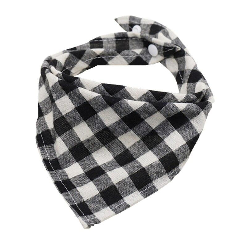 Cotton Baby Bibs Burp Cloth Scotland Style Triangle Baby Bibs Plaid Adjustable Baby Meal Bib Infant Bibs цена 2017