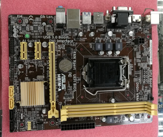 Asus H81M-A 1150 Deluxe Plate H81 motherboard asus z97 a