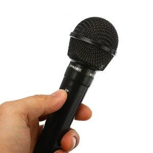 Image 5 - Universal 3.5mm Wired Microphone Protable Public Transmitter KTV Karaoke Recording Black Silver