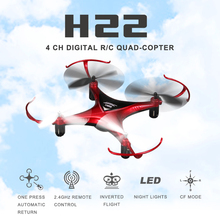 JJRC H22 Helicopter Mini RC Drones 3D Inverted Flight 2.4G 4CH 6-Axis Headless Mode and A key to return RTF Dron RC Quadcopter