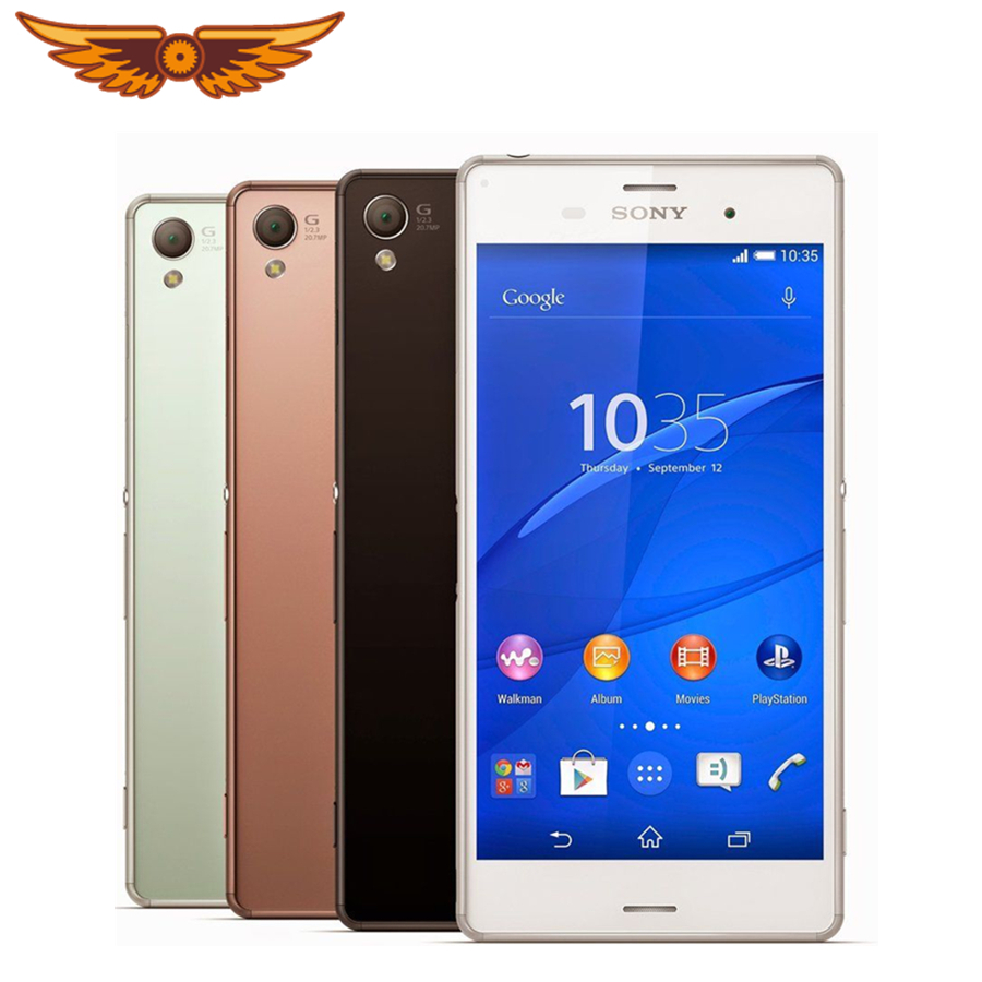 Sony Xperia Z3-D6603 16GB 3GB Quad Core 20mp Refurbished Smartphone Android-Os Original